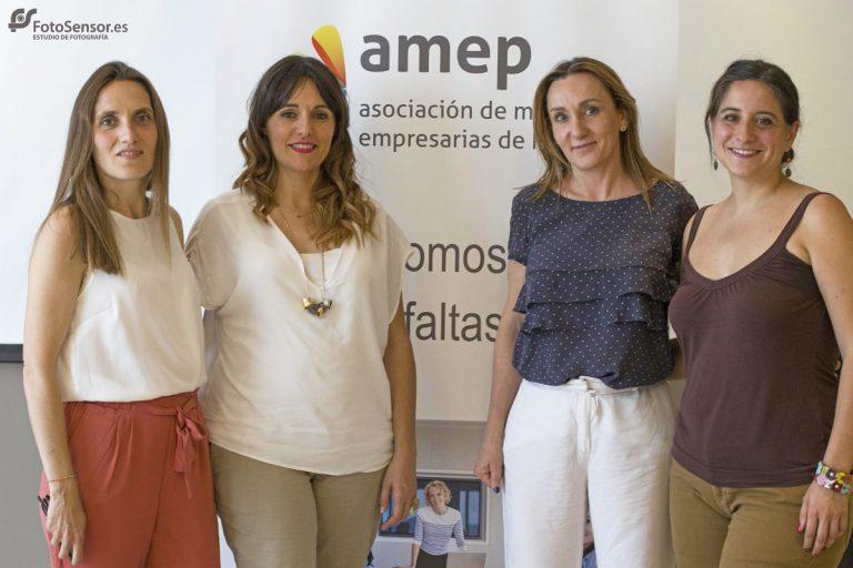 Reuniones de socias en Amep Asociación Mujeres empresarias